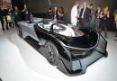 Batmobile gerçek oldu: Faraday Future FFZERO1