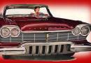 DeSoto gider '57 Plymouth gelir… Belalarıyla…