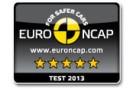 2008'e EuroNCAP'ten 5 yıldız