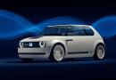 Honda Urban EV Concept'i tanıttı