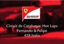 Ferrari pilotları eğleniyor!