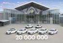 20 milyonuncu Skoda üretildi