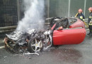 Ferrari'nin içi yanıyor!