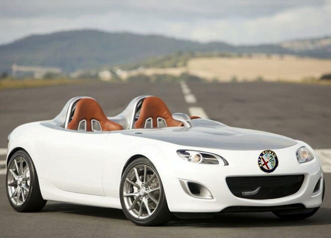 Gelecek MX-5'te Alfa Romeo ruhu