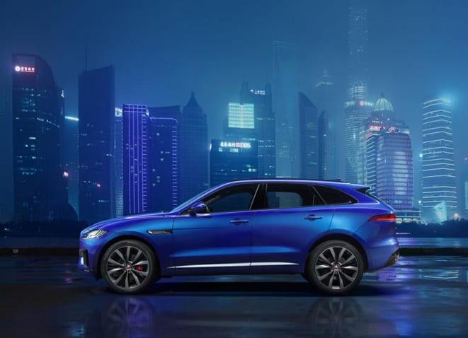 Jaguar, F-Pace ile SUV segmentinde