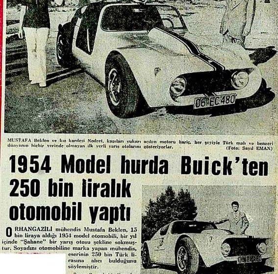 Türkiye'nin ilk yarış otosu!