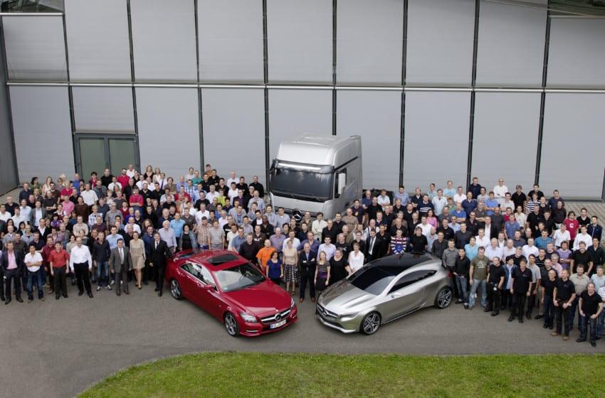 Mercedes-Benz'e 3 tasarım ödülü