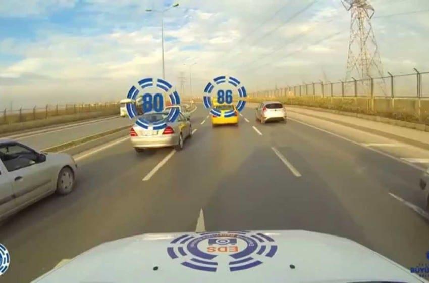 Mobil EDS İstanbullu bıçkın şoförleri bile korkuttu