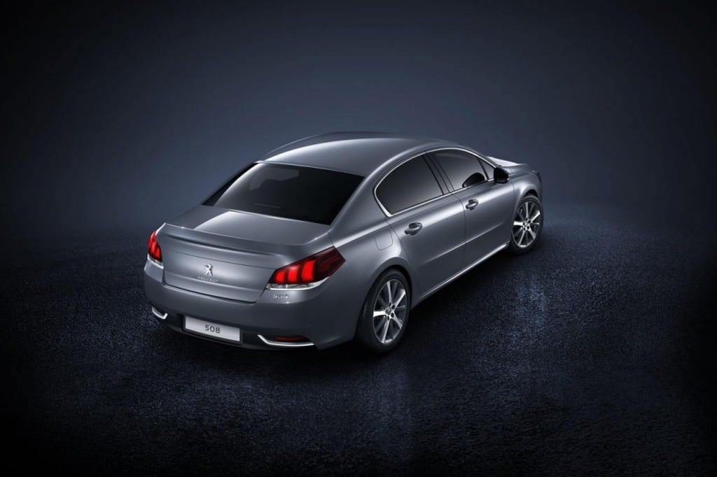 Peugeot 508 www.e-motoring.com