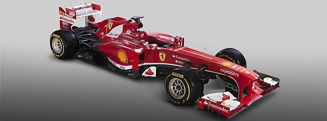 İşte Ferrari F138