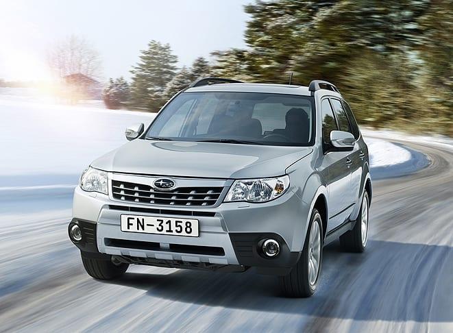 Subaru tüm ürün gamıyla güvenli