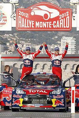 Monte Carlo Rallisi'nin galibi Michelin