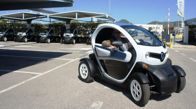 Şehir bulvarlarında UDO dönemi:Renault Twizy