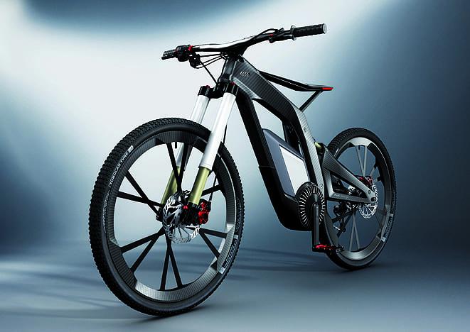 Audi'den elektrikli bisiklet: e-bike