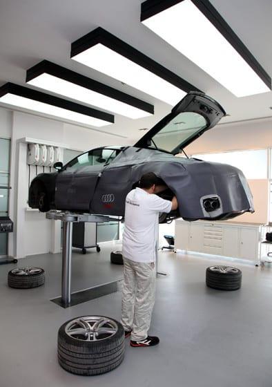 """Audi'den """"özel"""" atölye"""