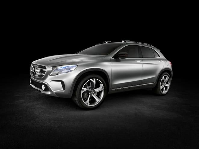 Mercedes-Benz GLA www.e-motoring.com