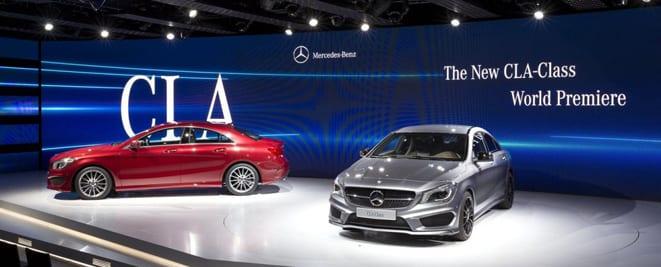 VIDEO Mercedes-Benz CLA böyle tanıtıldı
