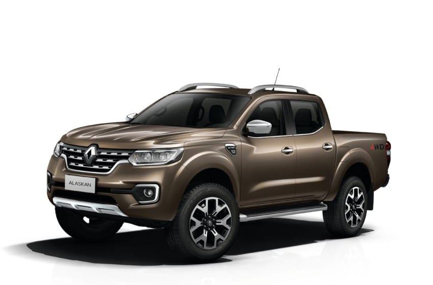 Renault pikap pazarında Alaskan ile iddialı