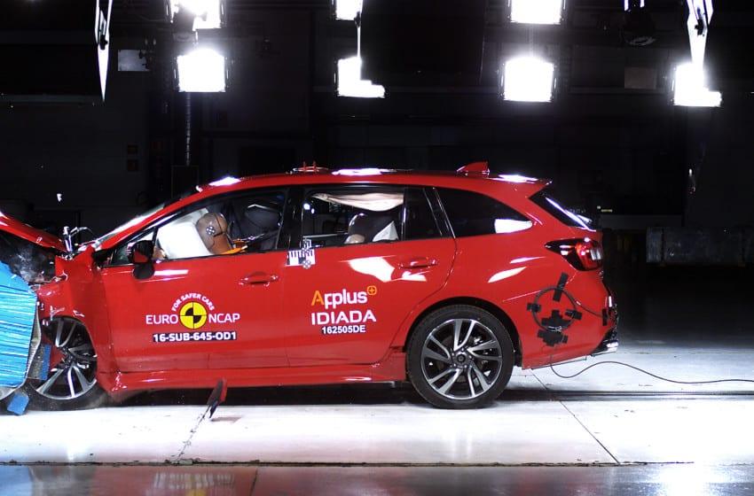 Levorg'a Euro NCAP 2016 Güvenlik Testi'nden tam not