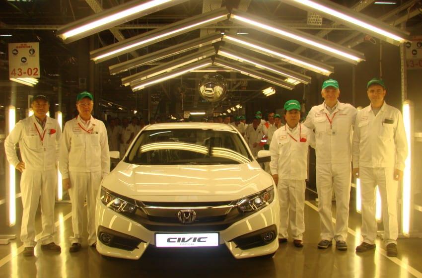 Yeni Honda Civic Sedan üretimi başladı