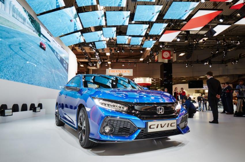 Civic Sedan'ın Avrupa prömiyeri Paris'te yapıldı