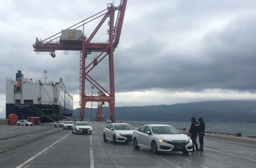 Civic Sedan ihracatı başladı