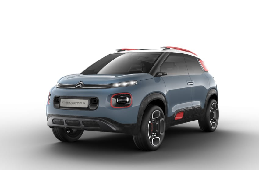 Citroën'in vizyonu C-Aircross konsepti