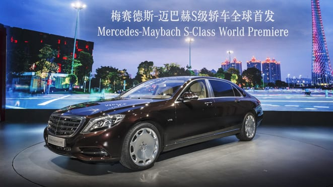 Mercedes-Benz auf der Guangzhou Auto Show 2014  Mercedes-Benz at the Guangzhou Auto Show 2014
