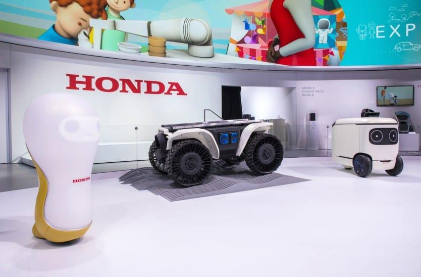 Honda'dan CES 2018'de teknoloji şovu