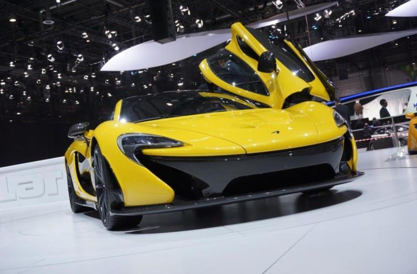 Ve bu da McLaren P1