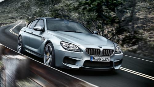 BMW M6 GranCoupe-Video