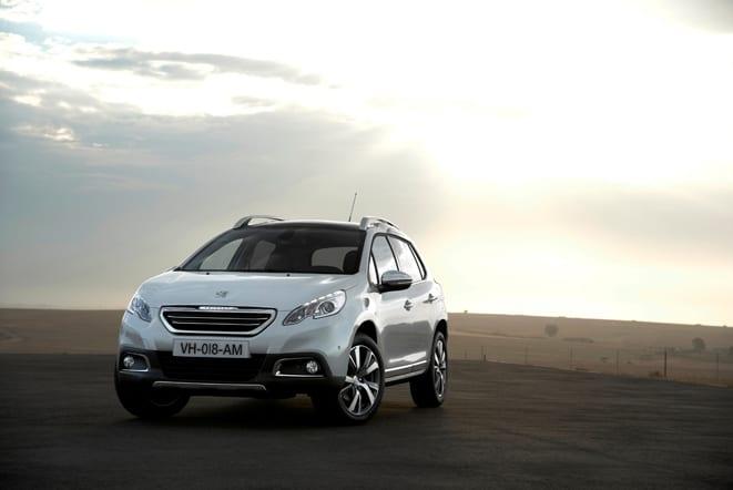 Peugeot'dan 2008 modelinin dünya prömiyeri