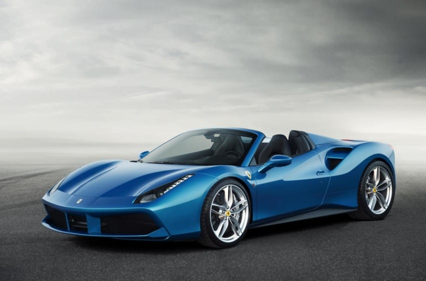 En aerodinamik Ferrari