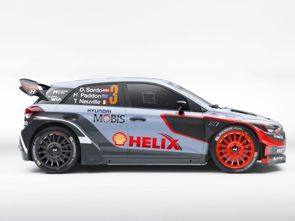 2016 Hyundai i20 WRC-3