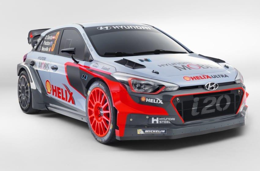 Yeni WRC otomobili