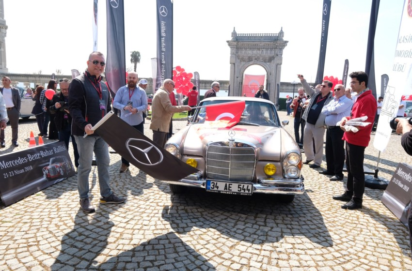 Mercedes-Benz Bahar Rallisi başladı
