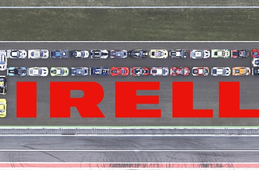 Ünlü logo 40'tan fazla GT3 otomobille oluşturuldu