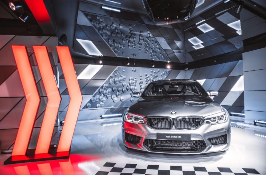 Yeni BMW M5 Türkiye'de