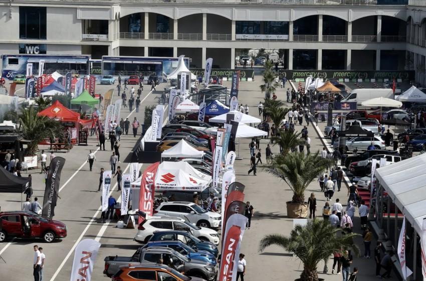 V Weekend Motoring İstanbul Park'ta yapıldı
