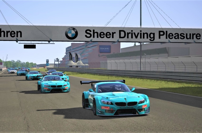 e-Nürburgring'deki e-yarışta zafer e-sporcuların!