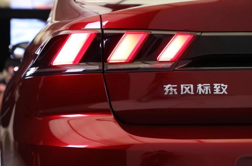 Çin'de Peugeot 508L tanıtılıyor
