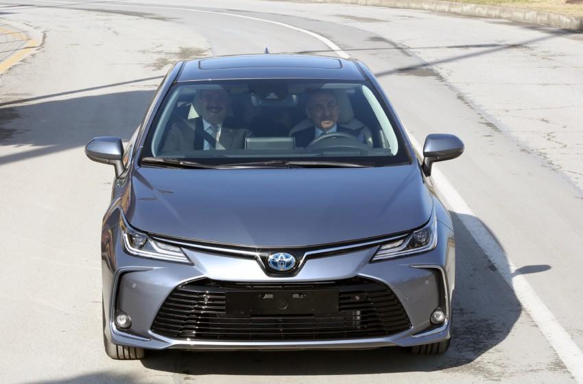 Corolla Sedan üretim bandından indi
