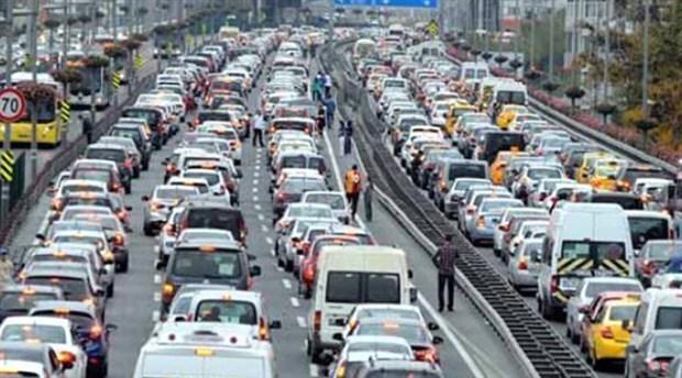 23 milyon araç yollarda!