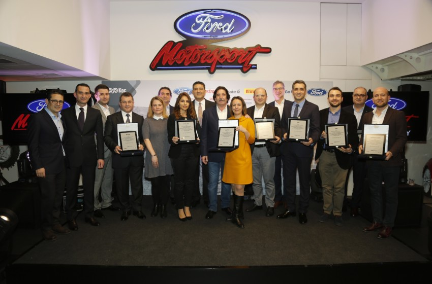 Ford Motorsport Türkiye'den sezon sonu partisi