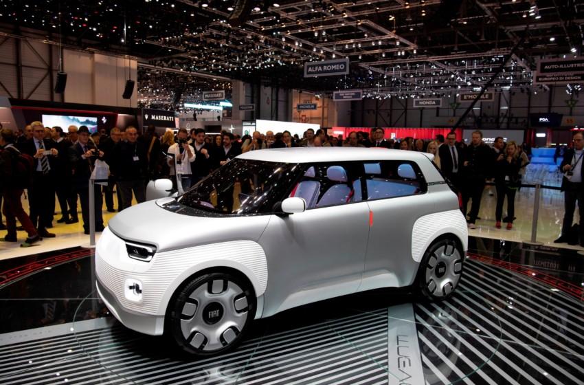 Fiat'tan yenilikçi ve modüler elektrikli mobilite konsepti: Fiat Concept Centoventi