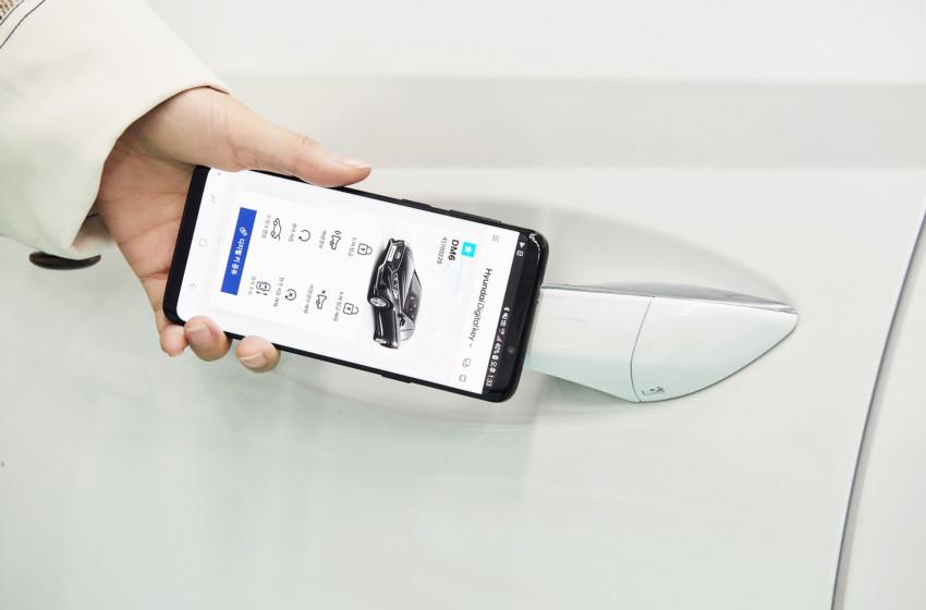 Hyundai dijital anahtar kulllanmaya başladı