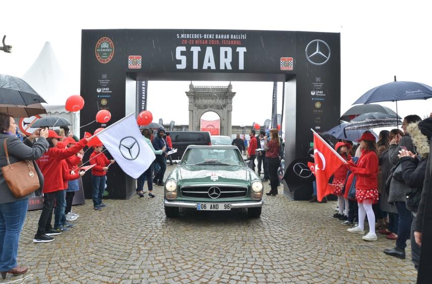5. Mercedes-Benz Bahar Rallisi ödül töreni ile sonlandı