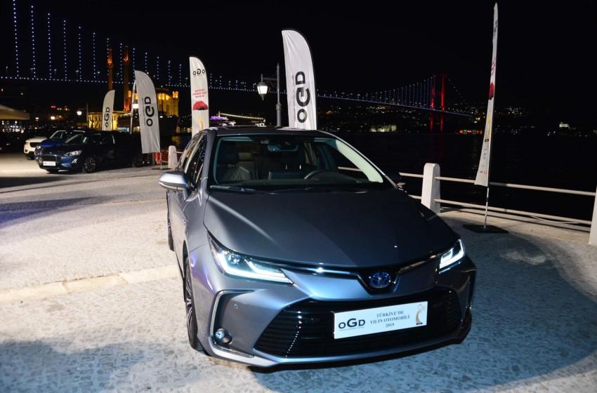 Türkiye'de Yılın Otomobili Corolla oldu