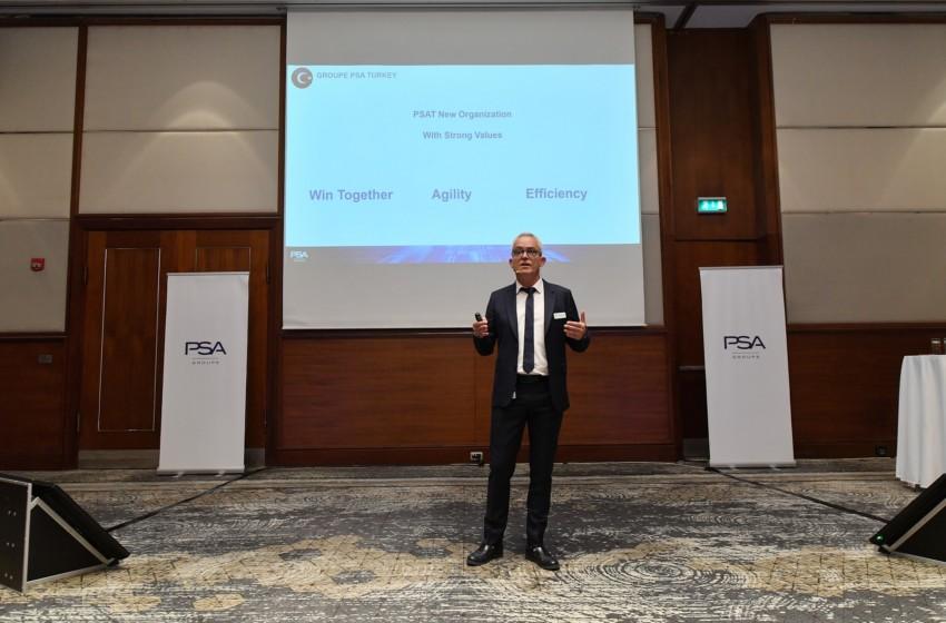 Groupe PSA Türkiye çalışanları Birleşme Toplantısı'nda buluştu