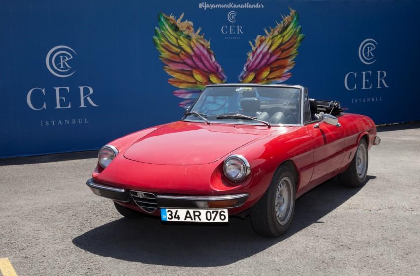 Klasik Otomobiller Cer İstanbul'da Buluştu